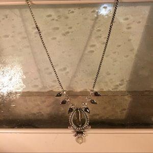 Stella & Dot Large Box Chain Statement Necklace
